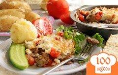 Фото рецепта: «Куриная печень по-итальянски»