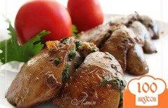 Фото рецепта: «Куриная печень по-мароккански»