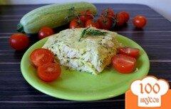 Фото рецепта: «Низкокалорийная запеканка с куриным филе и кабачками»