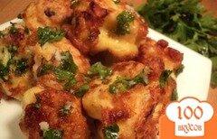 Фото рецепта: «Цветная капуста в сырно-горчичном кляре.»