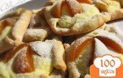 Фото рецепта: «Творожное печенье с фруктами»