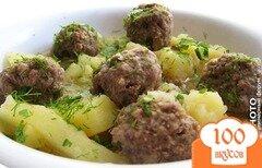 Фото рецепта: «Тефтели с картошкой»