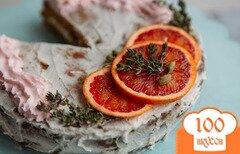 Фото рецепта: «Пряный морковный торт с орехами»