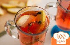 Фото рецепта: «Чай из клюквы с тимьяном»