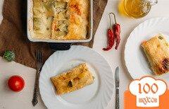 Фото рецепта: «Каннеллони с фаршем + вегетарианский вариант»