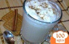 """Фото рецепта: «Холодный кофейный коктейль """"Фраппе""""»"""