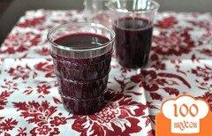 Фото рецепта: «Компот из винограда на зиму»
