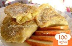 Фото рецепта: «Чебуреки с бананом и яблоком»