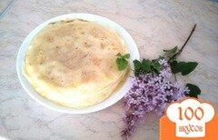 Фото рецепта: «Заварные вегетарианские блины»