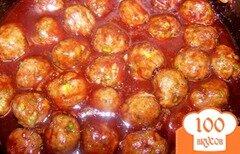 Фото рецепта: «Фрикадельки под соусом»