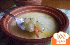 Фото рецепта: «Сырный суп с рисом»