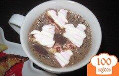 Фото рецепта: «Горячий шоколад с маршмеллоу»
