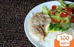 Фото рецепта: «Кокосовая тилапия»