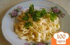 Фото рецепта: «Как приготовить пасту (макароны) самому»