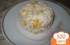 Фото рецепта: «Салат из курицы с ананасами и кукурузой»