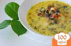 Фото рецепта: «Грибной сливочный суп»