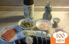 Фото рецепта: «Роллы из семги и мидии»