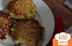 Фото рецепта: «Картофельные блины с фаршем»
