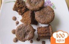 Фото рецепта: «Шоколадные брауни с кокосовой стружкой»