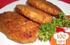 Фото рецепта: «Котлеты куриные с гречкой»