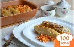 Фото рецепта: «Постные голубцы с рисом»