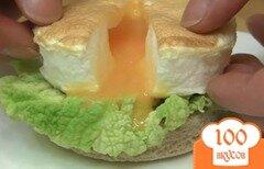 Фото рецепта: «Тост с воздушной яичницей»