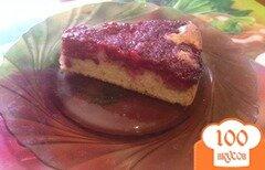 Фото рецепта: «Малиновый бисквит»