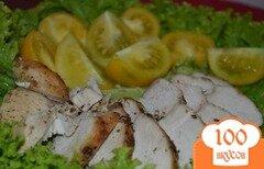 Фото рецепта: «Куринная грудка с пряными травами и лимоном»