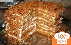 Фото рецепта: «Медовый тортик»