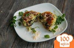 Фото рецепта: «Картофельные котлеты с грибами»