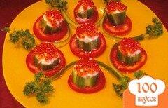 Фото рецепта: «Тарталетки с красной икрой»