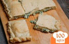 Фото рецепта: «Хачапури с творогом и сыром»