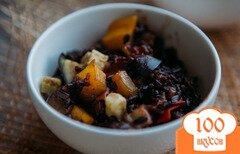 Фото рецепта: «Черный рис с овощами»