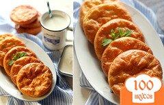 Фото рецепта: «Кокосовые сырники на рисовой муке»