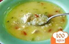 Фото рецепта: «Куриный суп с рисом»