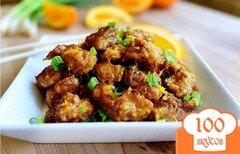 Фото рецепта: «Курица с апельсинами»