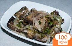 Фото рецепта: «Закуска из баклажанов. Маринованные баклажаны»