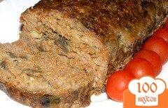 Фото рецепта: «Мясной хлеб с грибами»