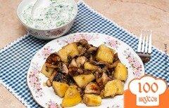 Фото рецепта: «Жареная картошка с грибами»