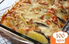 Фото рецепта: «Картофельная запеканка с баклажанами»