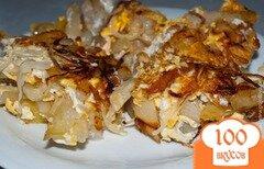 Фото рецепта: «Жареная картошка с яйцами»
