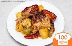 Фото рецепта: «Жаркое из курицы и овощного ассорти»