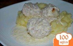 Фото рецепта: «Тефтели в сметанном соусе»