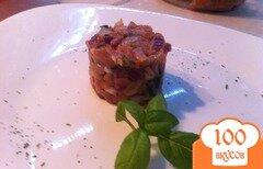 Фото рецепта: «Тартар из копченого лосося»