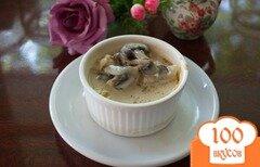Фото рецепта: «Легкое суфле с соусом»