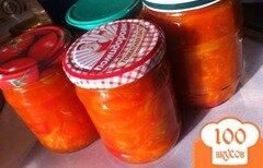 Фото рецепта: «Лечо с морковью из Будапешта»