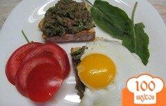 Фото рецепта: «Бабагануш - намазка из баклажанов на завтрак»