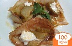 Фото рецепта: «Блинчики с грушами»