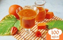Фото рецепта: «Смузи из тыквы, яблока и апельсина»
