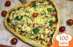 Фото рецепта: «Пицца-сердце»